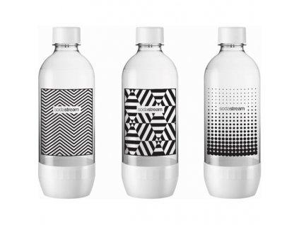Láhev SodaStream 1l TriPack Black&White