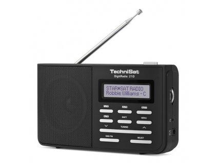 Radiopřijímač DAB TechniSat DIGITRADIO 210