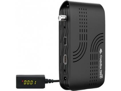 Satelitní přijímač AB CryptoBox 700HD mini