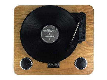 Gramofon AKAI ATT-09, dřevo