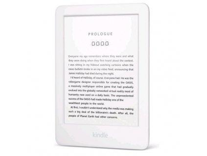 Čtečka e-knih Amazon Kindle Touch 2019 s reklamou - bílá