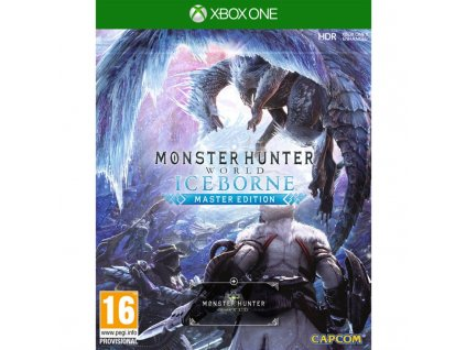 Hra Capcom Xbox One Moster Hunter World: Iceborne Master Edition