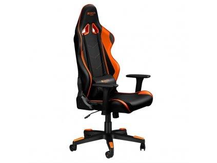 Herní židle Canyon Deimos - černá/oranžová