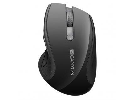 Myš Canyon CMSW01 / optická / 6 tlačítek / 1600dpi - černá