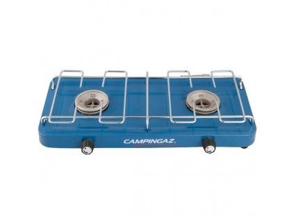 Vařič plynový Campingaz BASE CAMP™ (dvouplotýnkový vařič na PB lahve), výkon 2x1600 W, hmotnost 1,4 kg