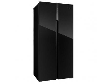 Chladnička amer. Concept LA7383bc, černá, NoFrost