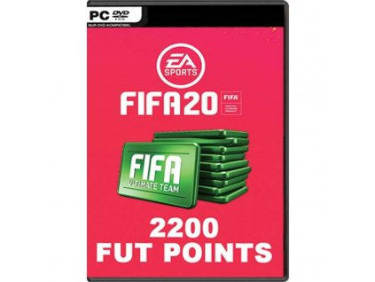 Hra EA PC  FIFA 20 - 2200 FUT Points