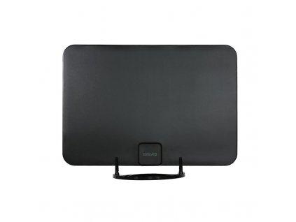 Anténa pokojová Evolveo Xany 2A LTE 230/5V, 45dBi aktivní pokojová anténa DVB-T/T2, LTE filtr