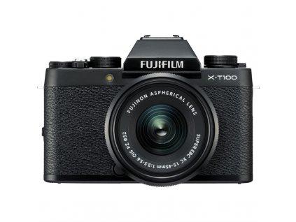 CSC fotoaparát FujiFilm X-T100 + XC15-45, černý