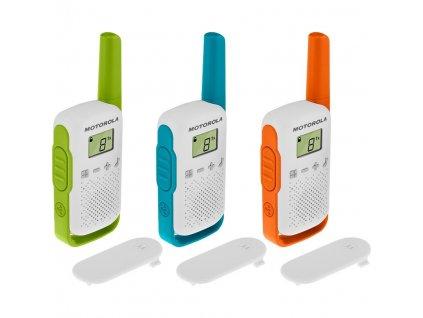 Vysílačky Motorola TLKR T42 - Triple Pack
