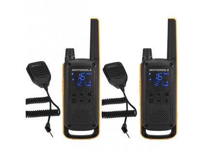 Vysílačky Motorola TLKR T82 Extreme RSM Pack - černý/žlutý