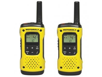 Vysílačky Motorola TLKR T92 H2O - žlutý