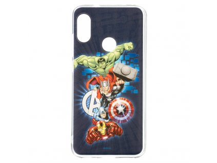 Kryt na mobil Marvel Avengers pro Xiaomi Mi A2 Lite - modrý