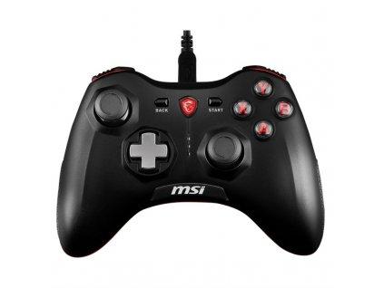 Gamepad MSI Force GC20, drátový, pro PC, PS3, Android - černý