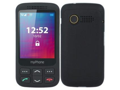 Mobilní telefon myPhone Halo S Senior - černý
