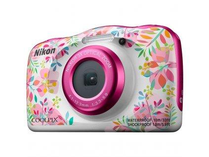 Fotoaparát Nikon Coolpix  W150 BACKPACK KIT, květinová