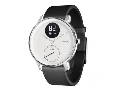 Chytré hodinky Nokia Steel HR (36mm) - bílé