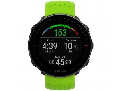 GPS hodinky Polar Vantage M - zelené, černý řemínek zdarma