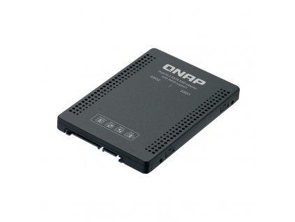 Adaptér QNAP QDA-A2MAR (2x M.2 SSD SATA sloty v 2,5'' SATA rámečku)
