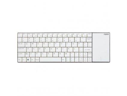 Klávesnice Rapoo E2710, CZ+SK layout - bílá
