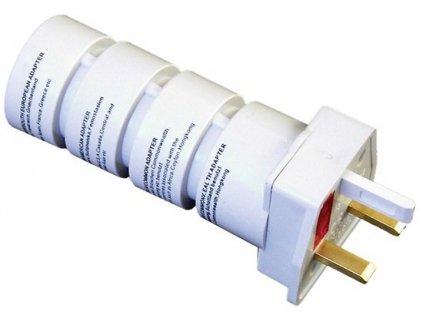 Cestovní adaptér Solight souprava UK, USA, AUS, AFR