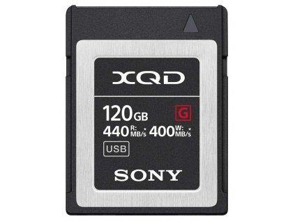 Paměťová karta Sony XQD G 120 GB (440R/400W)