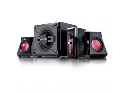Reproduktory Genius GX Gaming SW-G 2.1 1250, Verze II. - černé/červené