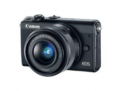 CSC fotoaparát Canon EOS M100 + M 15-45 IS STM + IRISTA, černý