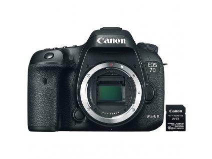 Zrcadlovka Canon EOS 7D Mark II tělo + Adaptér W-E1