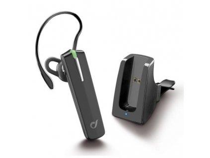 Handsfree CellularLine Car Pro s držákem - černé