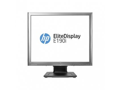 "LCD monitor HP EliteDisplay E190i 19"", LED, IPS, 8ms, 1000:1, 250cd/m2, 1280 x 1024, DVI"