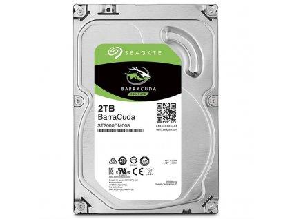 "HDD 3,5"" Seagate Barracuda 2TB SATA III, 7200 ot/min, 256MB cache"