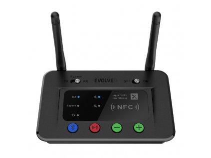 Adaptér Evolveo AudioConverter XS, DAC s Bluetooth vysílačem a přijímačem 2v1