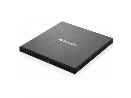 Externí Blu-ray vypalovačka Verbatim Slimline Ultra HD 4K USB-C