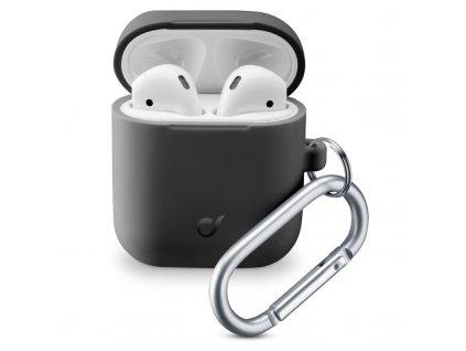 Pouzdro CellularLine Bounce pro Apple AirPods (2018/2019) - černé
