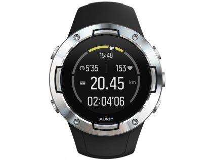 GPS hodinky Suunto 5 - Black Steel