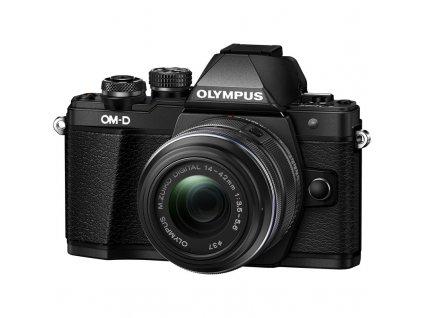 CSC fotoaparát Olympus E-M10 Mark II + 14-42 KIT, černý