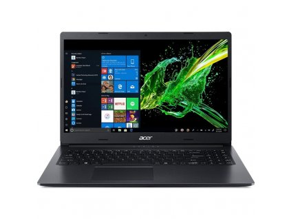 "Ntb Acer Aspire 3 (A315-34-P1RL) Pentium Silver N5000, 8GB, 256GB, 15.6"", Full HD, bez mechaniky, Intel UHD 605, BT, CAM, W10 Home - černý"