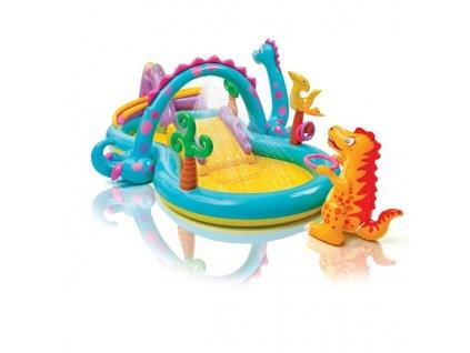 Bazénové hrací centrum Intex Dinopark 333x229x112 cm