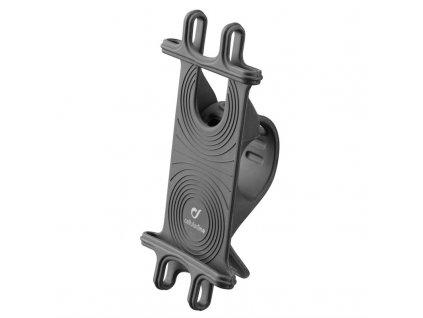 Držák na mobil CellularLine Bike Holder upevnění na řídítka - černý