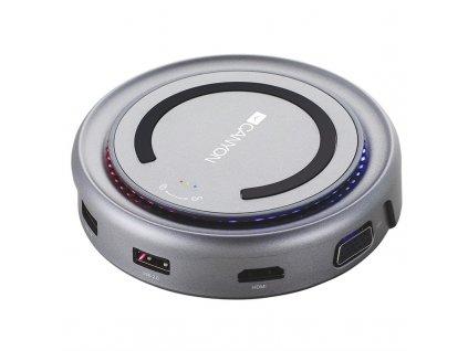 Dokovací stanice Canyon USB/USB-C/HDMI/VGA/USB-C PD 100W