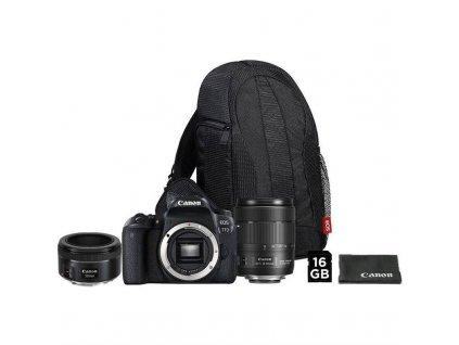 Set Canon EOS 77D + 18-135 IS USM + VUK + EF 50 mm f/1.8 STM