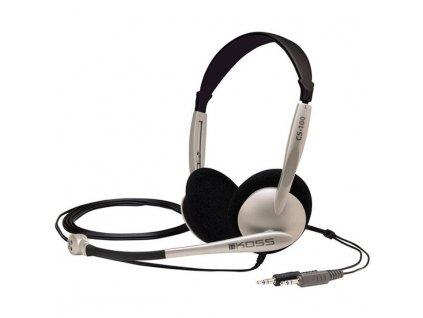 Headset Koss CS 100 - černý/stříbrný