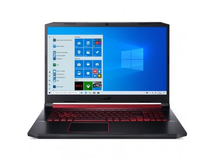 "Ntb Acer Nitro 5 (AN517-51-576N) i5-9300H, 8GB, 512GB, 17.3"", Full HD, bez mechaniky, nVidia GeForce 1650, 4GB, BT, CAM, W10 Home - černý"