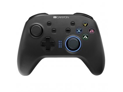 Gamepad Canyon CND-GPW3 4v1 pro Nintendo Switch, Android, PC, PS3 - černý