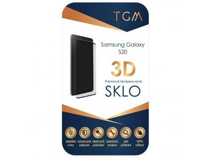Ochranné sklo TGM 3D na Samsung Galaxy S20