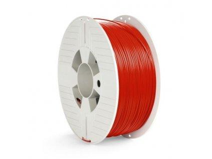 Tisková struna Verbatim PET-G 1,75 mm pro 3D tiskárnu, 1kg - červená
