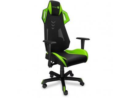 Herní židle Connect IT Alien Pro - černá/zelená
