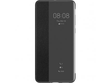 Pouzdro na mobil flipové Huawei Smart View Flip na P40 - černý