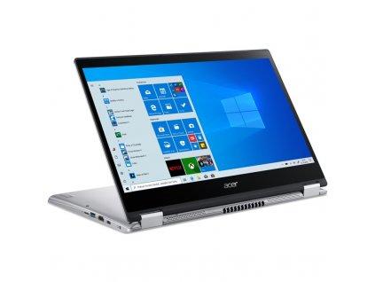 "Ntb Acer Spin 3 (SP314-54N-371N) i3-1005G1, 8GB, 256GB, 14"", Full HD, bez mechaniky, Intel UHD Graphics, BT, FPR, CAM, Win10 Pro - stříbrný"